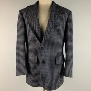 Pendleton Blazer - Gray Tweed Wool Mens 44R